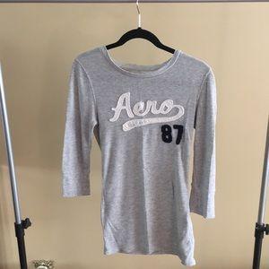 Elbow length aeropostale shirt